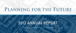 Gwinnett Village 2012 Annual Report