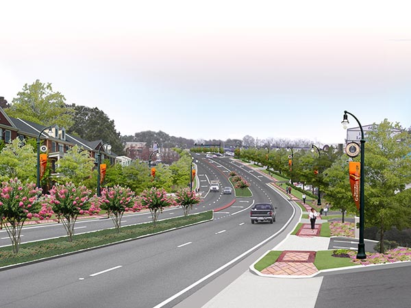 Simulation of Buford Highway
