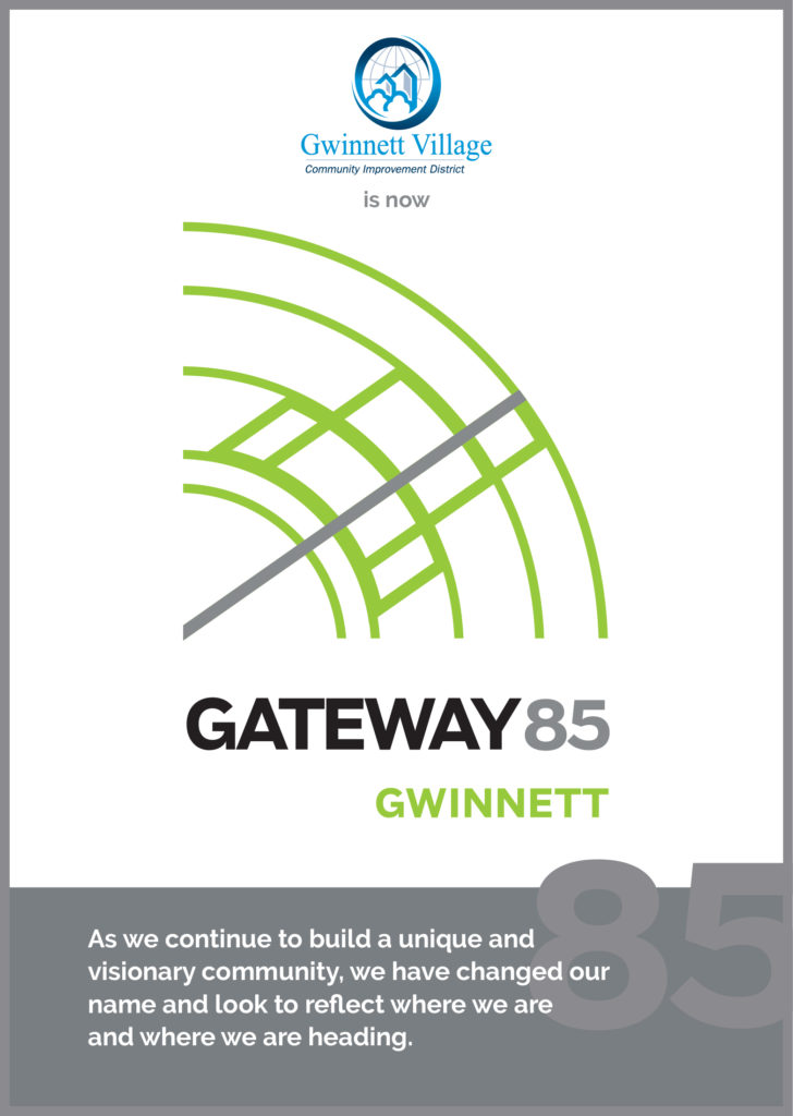 Gwinnett Village CID is Now Gateway85