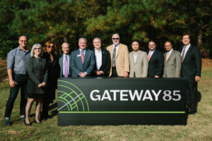 Gateway85 Brand Unveiling Ceremony - Road Sign