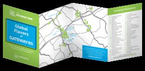 2018 Global Flavors of Gateway85 Map Thumb