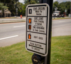 HAWK Signal Crosswalk Button