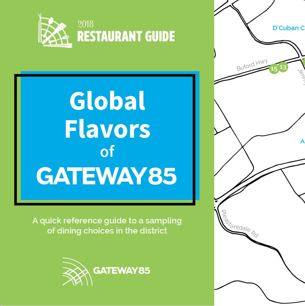 2018 Global Flavors Restaurant Map