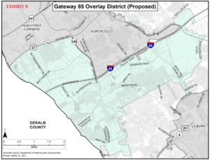Overlay District Map